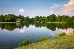 English park of Woerlitz. Stock Photo