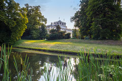 English park of Woerlitz. Royalty Free Stock Images
