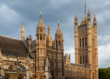 English Parliament Stock Photography