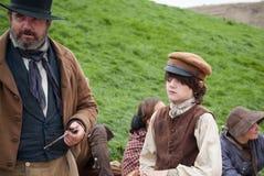 English peasants Stock Photo