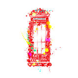 English phone booth Royalty Free Stock Image