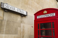 English phone booth Royalty Free Stock Photo