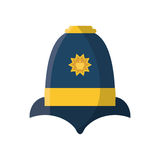 English police hat Royalty Free Stock Images