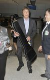 English popstar Paul Macartney at lAX Stock Image