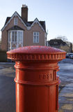 English Post Box Stock Photography