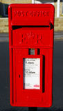 English Post Box Royalty Free Stock Photo
