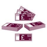 English pound Stock Image