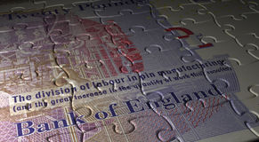 English Pound Puzzle stock photography