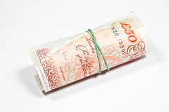 English pounds sterling money Stock Image