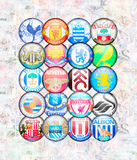English Premier League 2012/13 Royalty Free Stock Photo