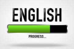 English progress Stock Images
