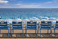 English promenade, Nice, French Riviera Royalty Free Stock Photo