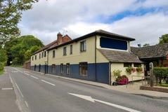English pub. English country pub near Sainsbury, south of england Stock Photography