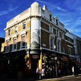 English pub. In Notting Hill London Royalty Free Stock Photo