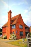 English red brick house Royalty Free Stock Photos