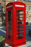 English Red Telephone Box Stock Photo