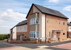 English Residential Estate Royalty Free Stock Image