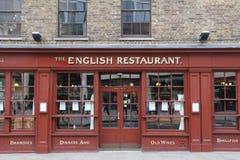 The English Restaurant Stock Photography