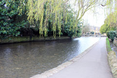 English riverside pathway Royalty Free Stock Photo