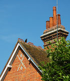 English rooftop. Typical old english rooftop Royalty Free Stock Photos