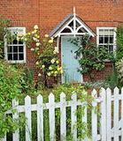 English rose cottage Royalty Free Stock Photos