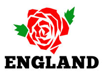 English rose England Royalty Free Stock Photography