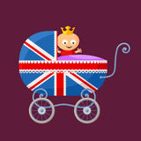 English Royal Baby Royalty Free Stock Images