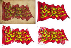 English Royal Banner Royalty Free Stock Photos
