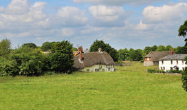 English Rural Cottages Stock Image