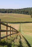 English Rural Footpath Stock Image