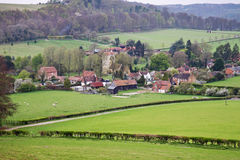 An English Rural Hamlet in Oxfordshire Stock Images
