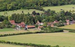 An English Rural Hamlet in Oxfordshire Stock Photos