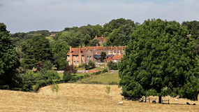 An English Rural Hamlet in Oxfordshire Royalty Free Stock Photo