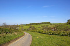 English rural highway Stock Images