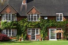 English Rural House Royalty Free Stock Photos