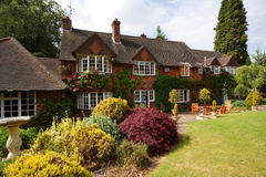 English Rural House Stock Photography