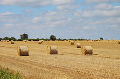 An English Rural Landscape Stock Photo