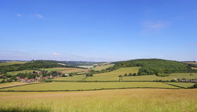 An English Rural Landscape Stock Images