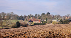 An English Rural Landscape in Buckinghamshire Royalty Free Stock Photo