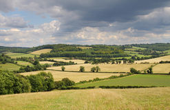 An English Rural Landscape in Summer Stock Images