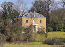 English Rural Manor House Royalty Free Stock Image
