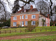 English Rural Manor House Stock Photography