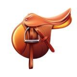 English saddle Stock Image