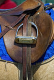 English Saddle and Stirrup Royalty Free Stock Photos