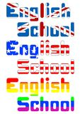 English schools Royalty Free Stock Photography
