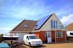 English seaside bungalow Kent Stock Photo