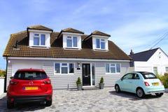 English seaside bungalows Kent Royalty Free Stock Photo