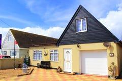 English seaside bungalows Kent Royalty Free Stock Image