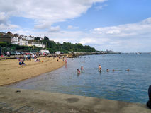 English Seaside View Royalty Free Stock Images
