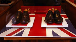 English shoes. Royalty Free Stock Photos